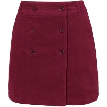 Womens Judita Skirt in Plum