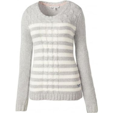 Womens Shakly Jumper in Grey