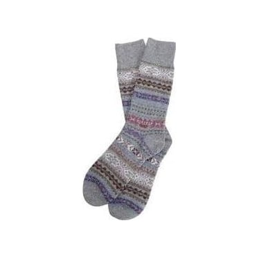 Mens Boyd Sock in Grey