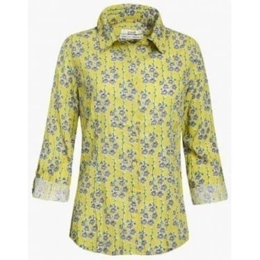 Womens Larissa Shirt in Cornish Violet Peel