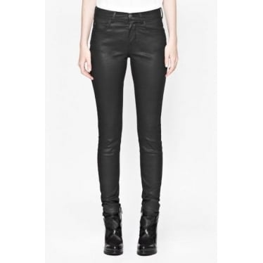 Gazelle Coated Pocket Jean in Black