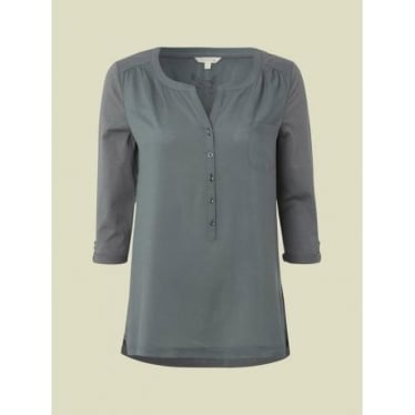 Womens Display Shirt in Tractor Green