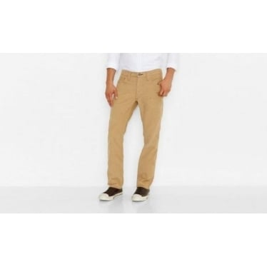 Mens 511 Slim Cord Trousers in Sand
