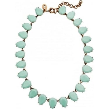 Womens Bridie Necklace in Opal Blue