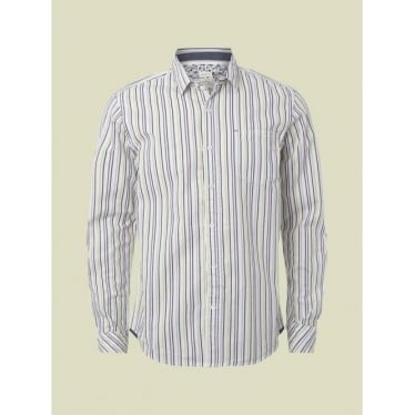 Mens Midway Stripe Shirt in Multi
