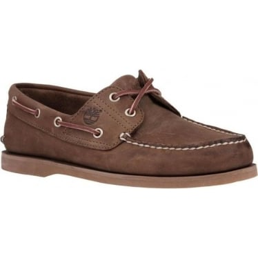 Mens Icon 2-eye Boat Shoe 1001R in Gaucho Roughcut