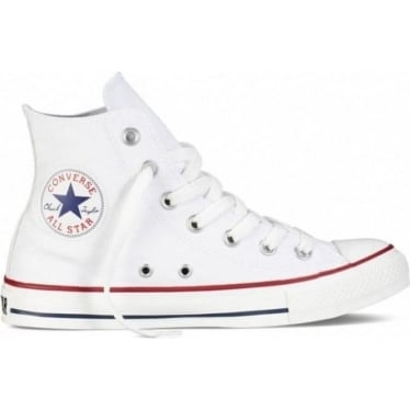 Unisex Chuck Taylor All Star Hi in Optical White