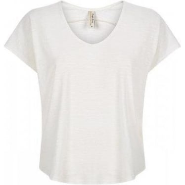Womens Ruth Top in Eco White