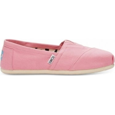 Womens Classic Canvas in Pink Icing