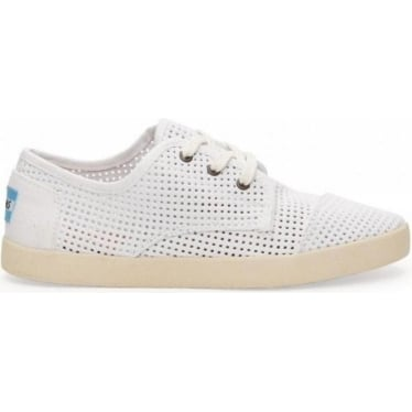 Womens Perforated Classic Paseos in White