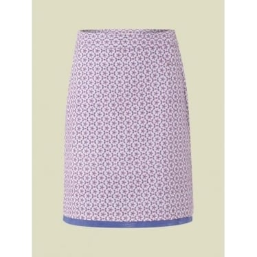 Womens San Pedro Emb Skirt in Parma Violet