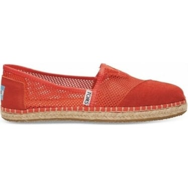 Womens Fiesta Mesh Classics in Red
