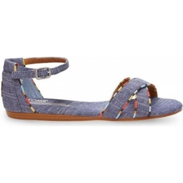 Womens Correa Sandal in Chambray