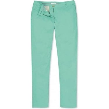 Womens Walker Chino in Pale Lagoon