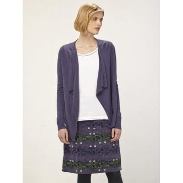Womens Way Of Life Skirt In Midnight Mauve