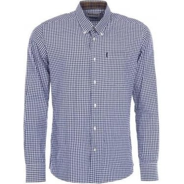 Mens Country Gingham In Navy