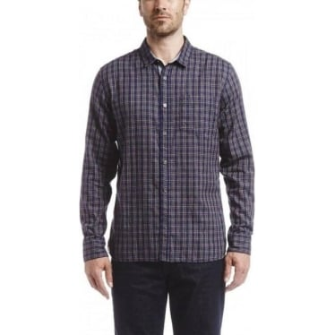 Mens Softon Shirt In Nuit Check