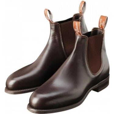 Mens Turnout Jodphur Boot in Chestnut
