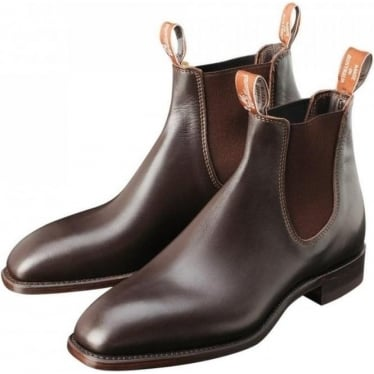 Mens Yearling Comfort Craftsman Boot in Chestnut