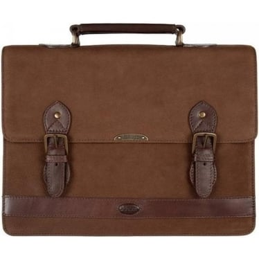 Belvedere Briefcase in Walnut