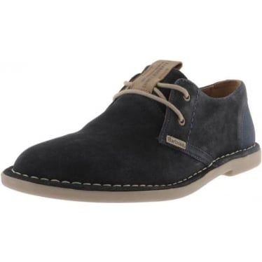 Mens Wingate Suede Derby Shoe in Navy