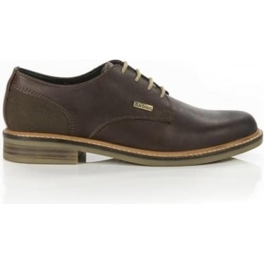 Mens Cottam Derby Shoe in Dark Brown