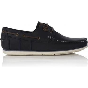 Mens Capstan Boat Shoe in Blue
