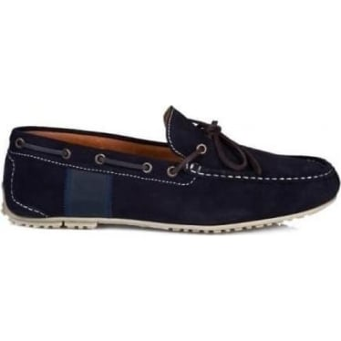 Mens Spinnaker Driving Shoe in Navy