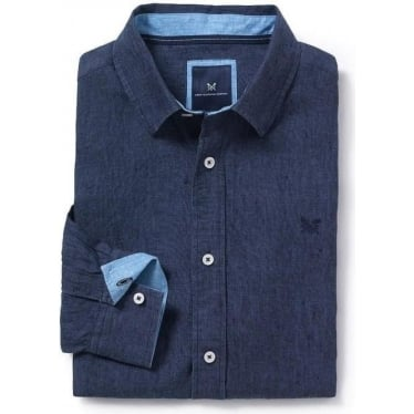 Mens Fernside Classic Shirt in Navy