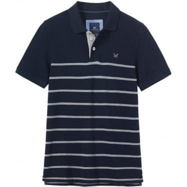 Mens Roxby Polo in Navy