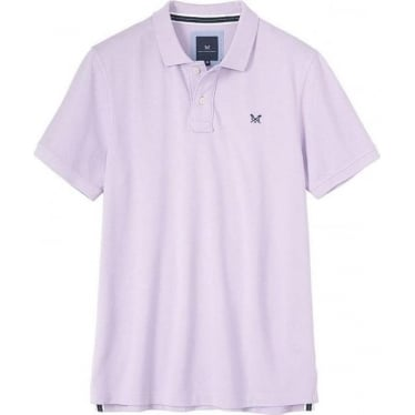 Mens Classic Pique Polo in Lilac