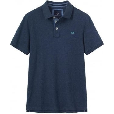 Mens Bandol Polo in Dark Navy