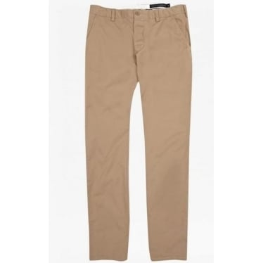Mens Machine Gun Stretch Trousers in Sand