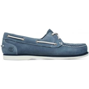 Womens Boat Shoe in Blue