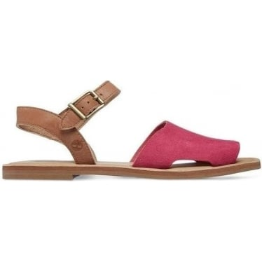 Womens A14IW Sheafe Y-strap Sandal in Vivacious Pink/Tan