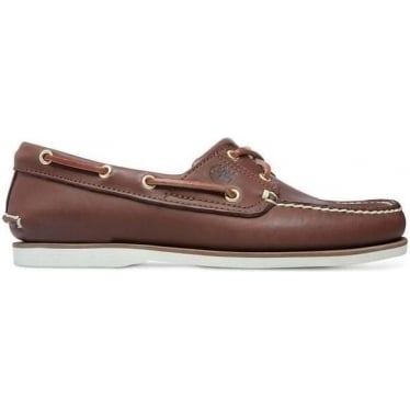 Mens Icon 2-eye Boat Shoe in Brown