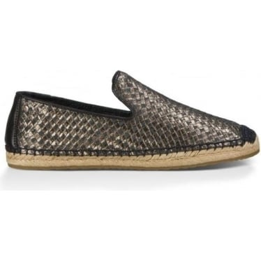 Womens Sandrinne Metallic Basket in Black