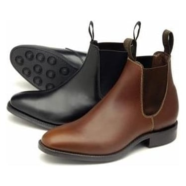 Womens Chatterley Chelsea Boot in Brown