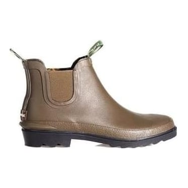 Womens Chelsea Wellington Boot in Olive