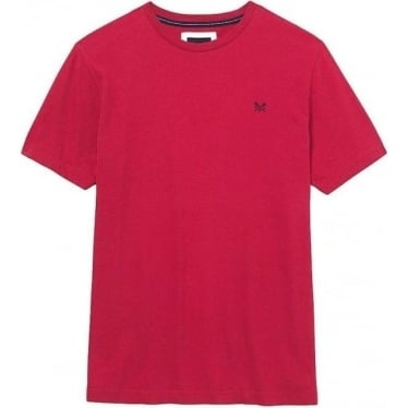 Crew Mens Classic Tee in Washed Cherry