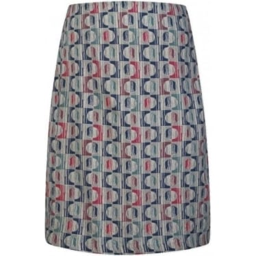 Womens Portfolio Skirt in Two Forms Cloud