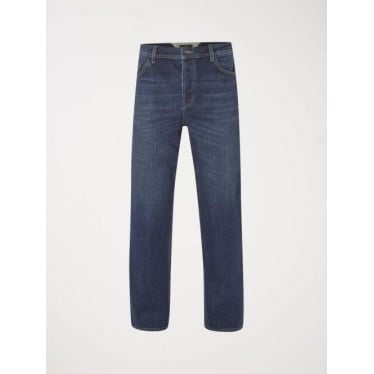Mens Whiskey Straight Cut Jean in Mid Wash