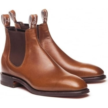 Mens Kangaroo Comfort Craftsman Boot in Tanbark
