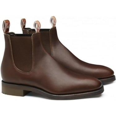Mens Lachlan Boots in Brown Vesta