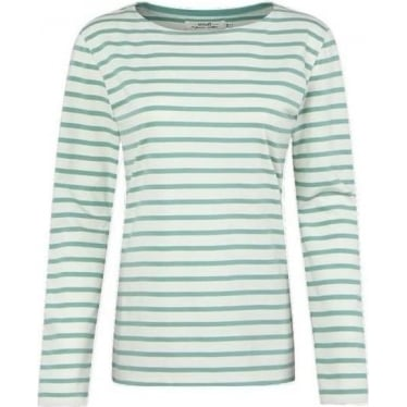 Womens Sailor Shirt in Breton Ecru Glaze