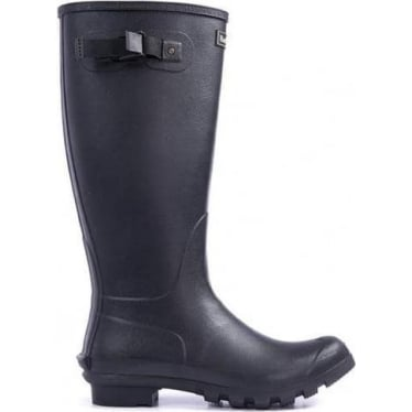 Barbour Mens Bede Wellington Boots in Black