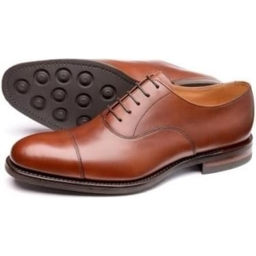 Mens Archway Oxford Shoe in Mahogany