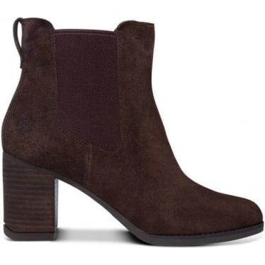Womens A19XH Atlantic Chelsea Boot in Bitter Chocolate Suede
