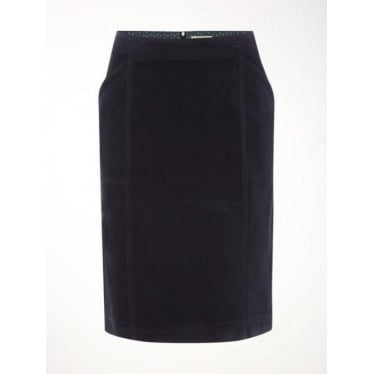 Womens Heirloom Skirt in Deep Dusk Blue