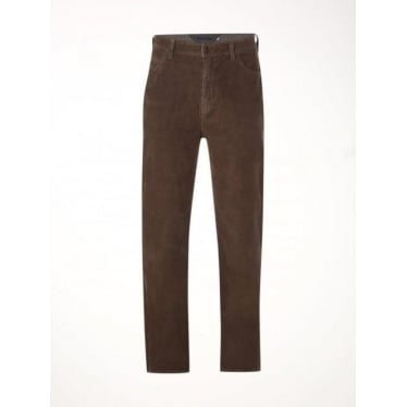 White Stuff Mens Wale Cord Trouser in Brown
